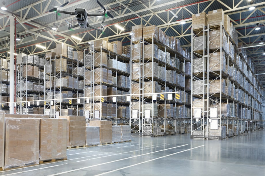 Drones in Warehouse management